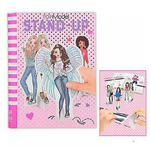 TM Stand Up Doll Colouring Book