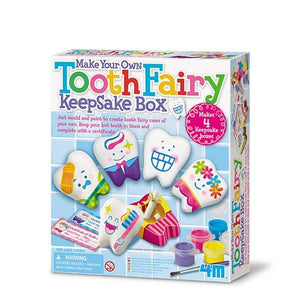 Tooth Fairy Keepsake Box Toys 4M
