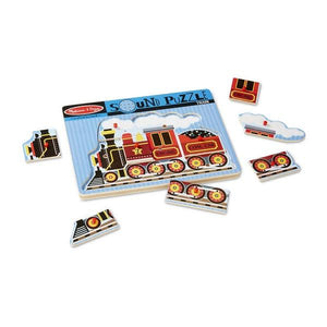 Train Sound Puzzle Toys Melissa & Doug