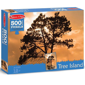 Tree Island 500pc Puzzle Toys Melissa & Doug