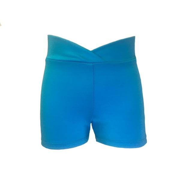 Turquoise Hipster Hotpants