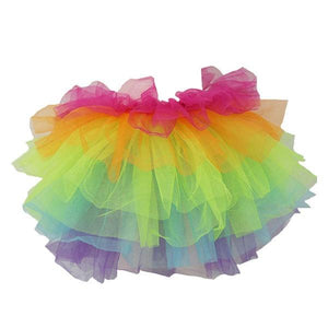 Tutu Skirt Multicolour Dress Up Not specified