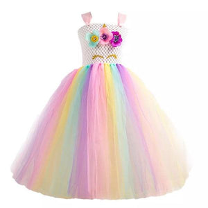 Unicorn Dress Flowers Dress Up Not specified