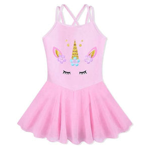 Unicorn Leotard Tutu Dress Up Not specified