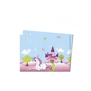 Unicorn Plastic Tablecover 120x180cm Parties Not specified