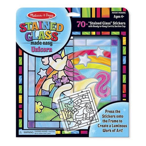 Unicorn Stained Glass Toys Melissa & Doug