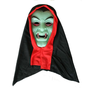 Vampire Mask with Hood Dress Up Not specified