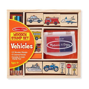 Vehicles Stamp Set Toys Melissa & Doug