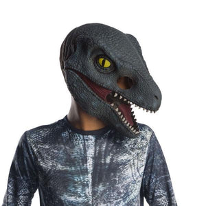 Velociraptor 'Blue' 3/4 Mask Dress Up Not specified