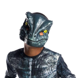 "Velociraptor ""Blue"" Vacuform 1/2 Mask Dress Up Not specified"