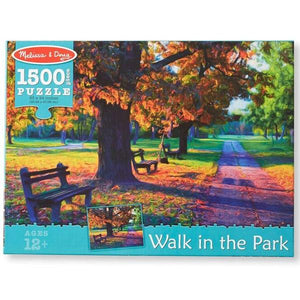 Walk In The Park Cardboard Puzzle 1500Pc Toys Melissa & Doug