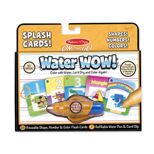 Water Wow Shapes Numbers Toys Melissa & Doug