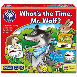 Whats the Time Mr Wolf Toys Orchard Toys