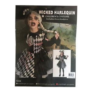Wicked Harley Quinn Costume Dress Up Not specified