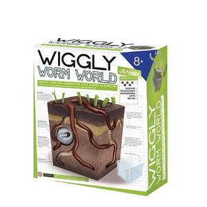 Wiggly Worm World Toys Jeanny