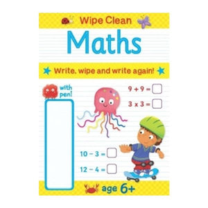 Wipe Clean Book - Maths Toys Not specified