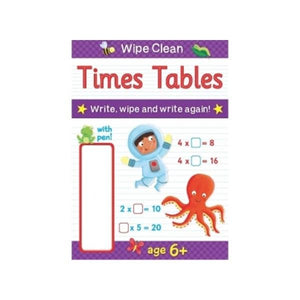 Wipe Clean Book - Times Tables Toys Not specified