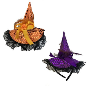 Witch Hat on Aliceband Dress Up Not specified