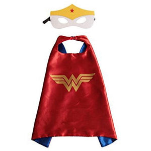 Wonder Woman Cape & Mask Dress Up Not specified