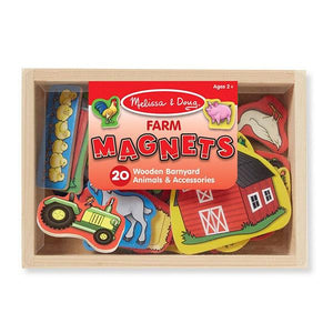 Wooden Farm Magnets Toys Melissa & Doug