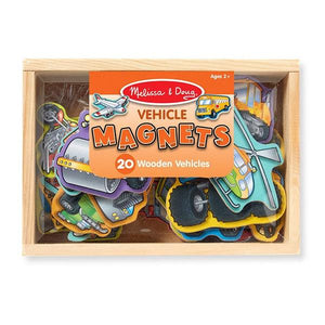 Wooden Vehicle Magnets Toys Melissa & Doug