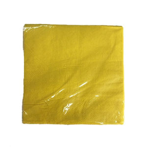 Yellow Serviettes Parties Not specified