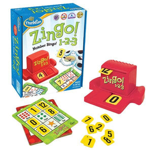 Zingo 1-2-3 Toys Think Fun