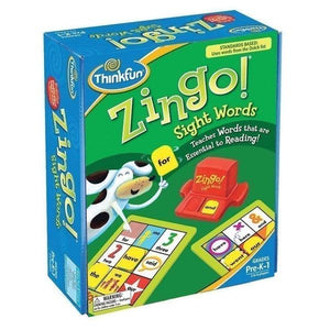 Zingo Sight Words Toys Think Fun