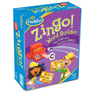 Zingo Word Builder Toys Think Fun