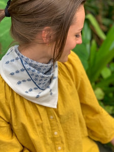 Buti Bandana in Dark Denim