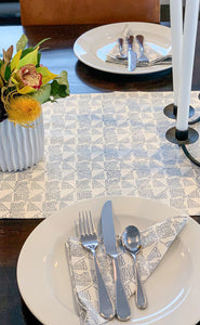 Blue Spruce Sprigs Table Napkins - Set of 4