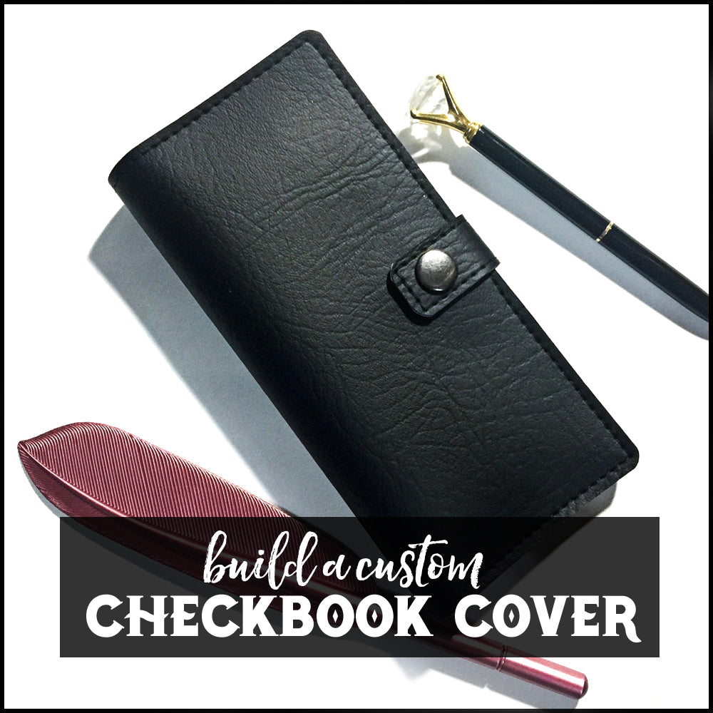 Custom Checkbook Cover