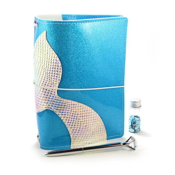 Mermaid Tail - Aqua Sparkle - POCKET SIZE