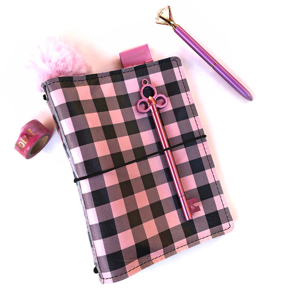 Pink Buffalo Plaid