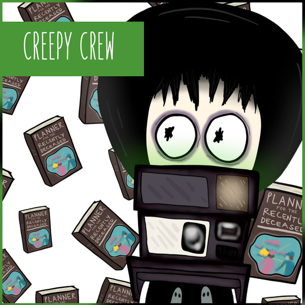 CREEPY CREW PRINTABLES