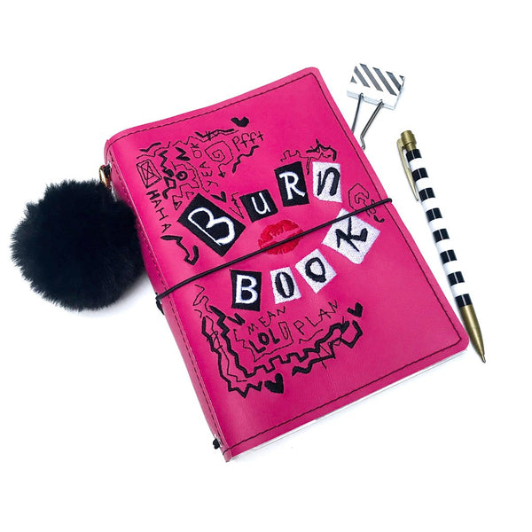 Hot Pink Journal - A6 - Straight Pockets - Ready to Ship!