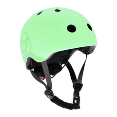 Scoot & Ride Helmet with LED Light - Kiwi - S-M