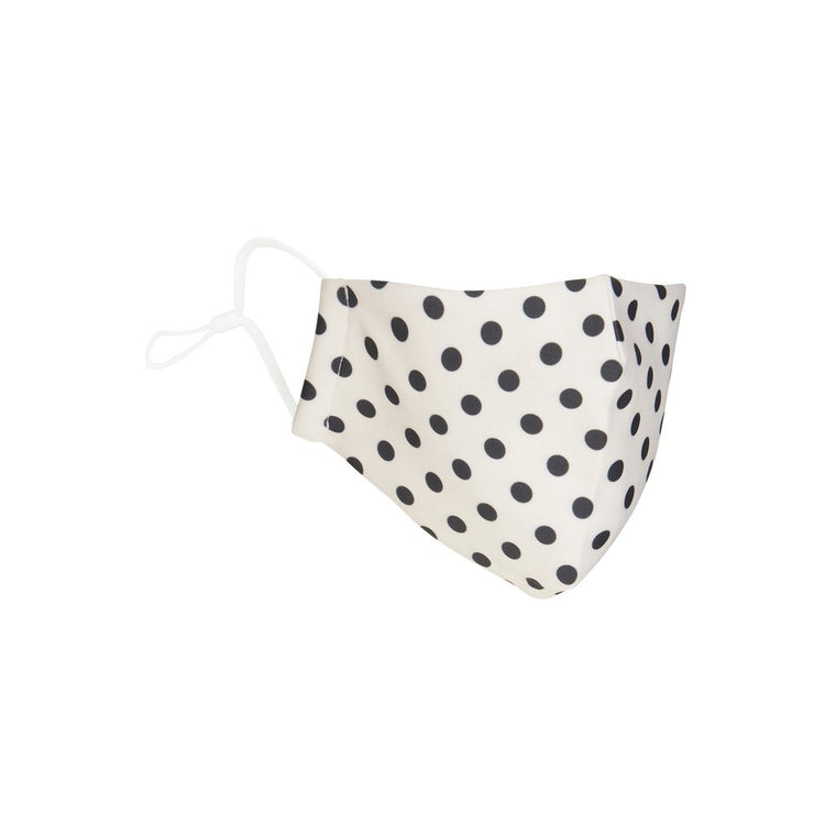 Mimi and Lula Child polka dot print face mask