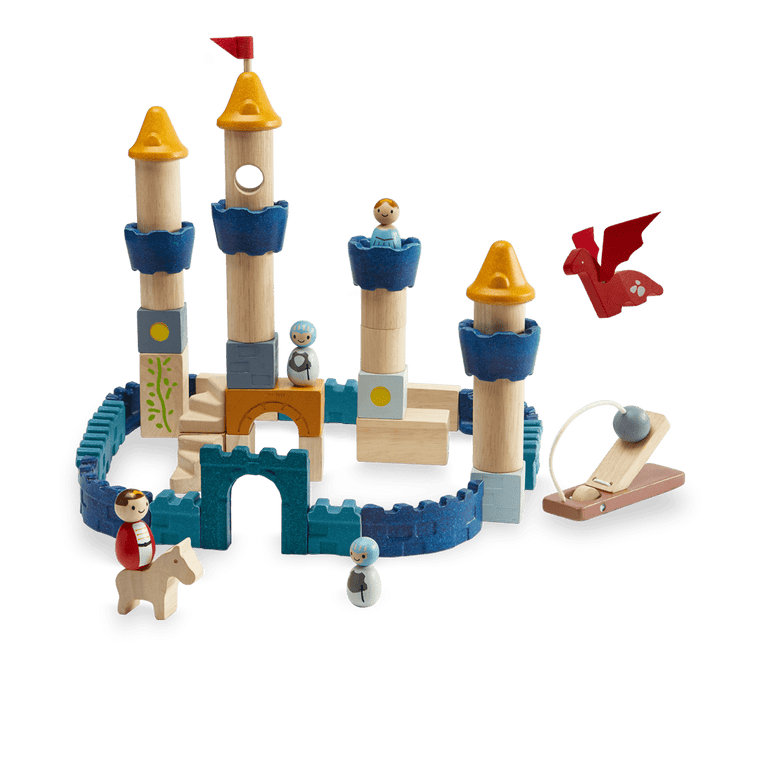 Plan Toys - Castle Blocks Orchard Collection