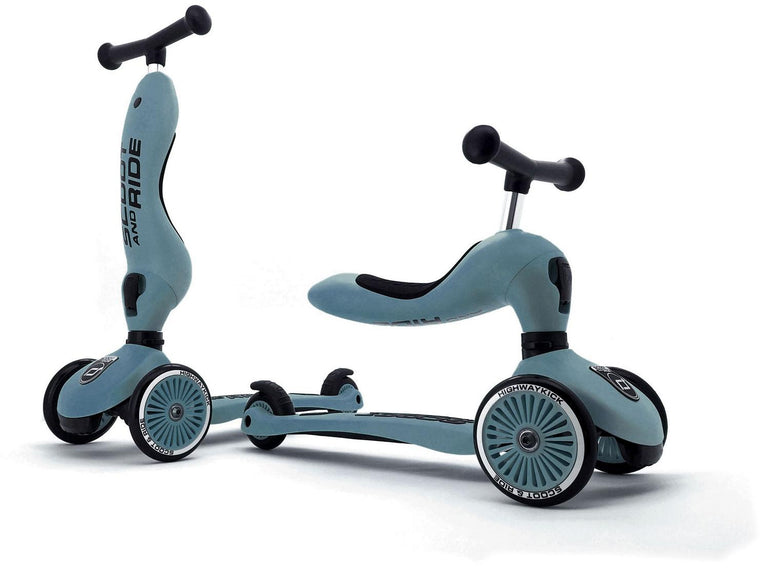 Scoot & Ride Highwaykick 1 - STEEL