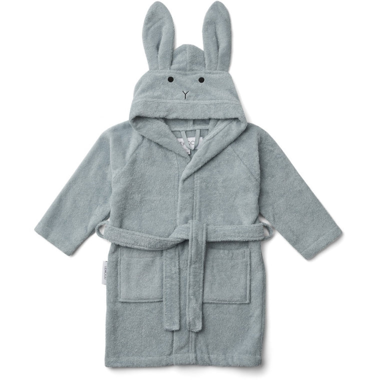 Lily Bathrobe - Rabbit Sea Blue