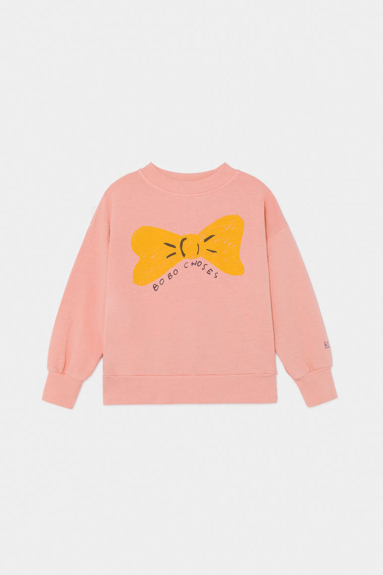 BOBO CHOSES Bow Sweatshirt