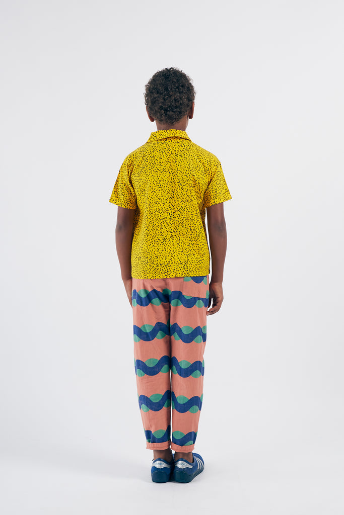 BOBO CHOSES All Over Sea Baggy Trousers