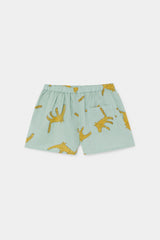 BOBO CHOSES Leopards Woven Shorts