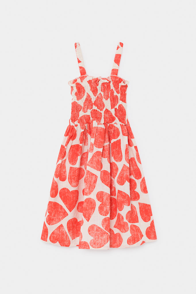 BOBO CHOSES All Over Hearts Smoked Dress