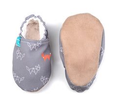 organic slippers ginger fox