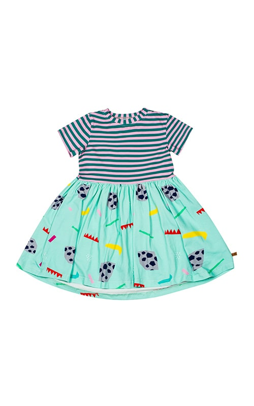 lamama Rapida Mint Dress