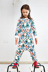 Indikidual Shapes Jump Suit