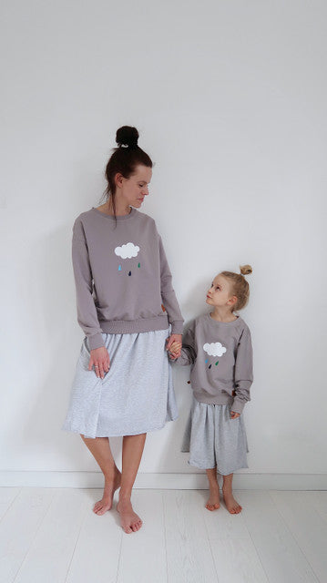 lamama FOR MOM - Claud Jumper GREY