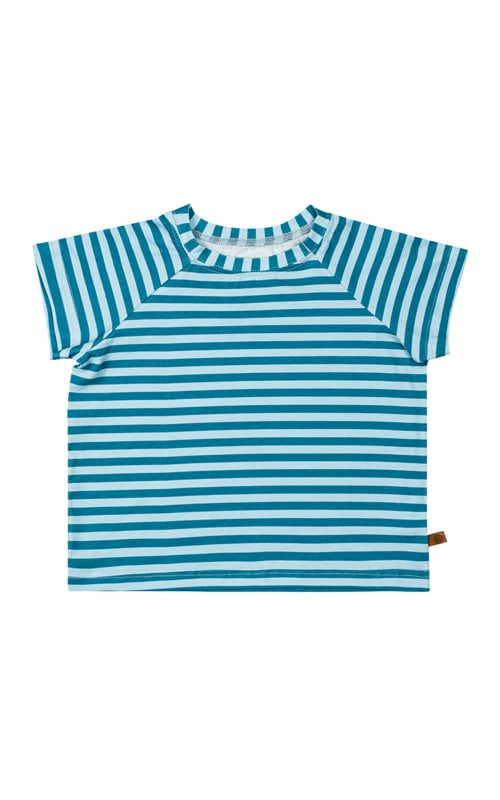 lamama Rapida Raglan Blue Stripes